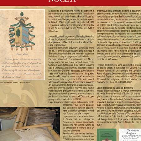 Pannello 03 L'archivio domestico Noceti - Jacopo Bicchierai