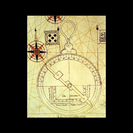 Diego Ribero, Astrolabio, 1529