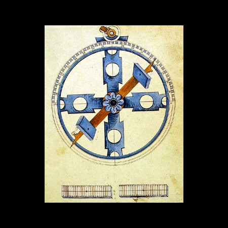 Mateo Jorge, Astrolabio nautico, sec. XVI