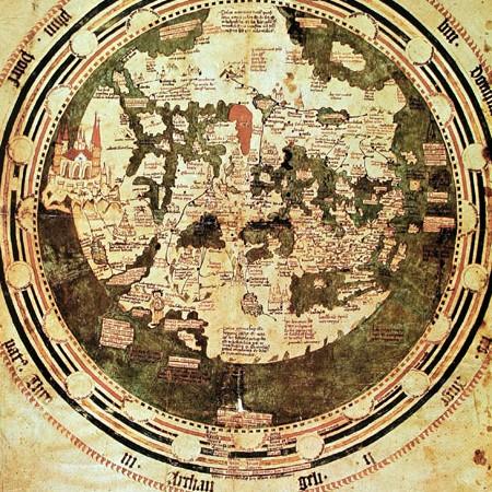 Andreus Walsperger, Carta universale dipinta su pergamena, 1448