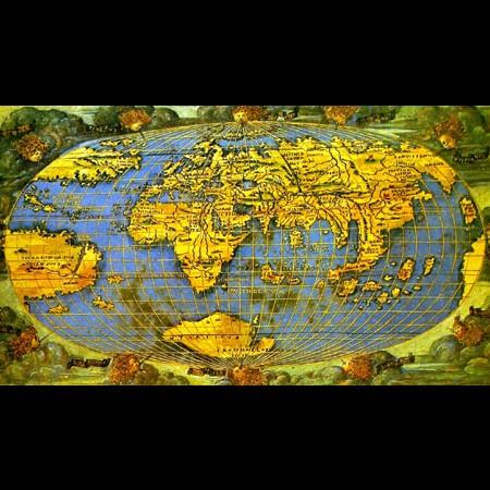 Francesco Rosselli, Carta universale, 1508