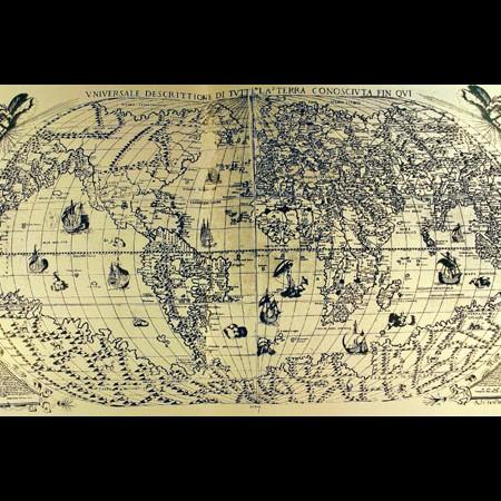 Paulo Forlani, Carta universale, 1565