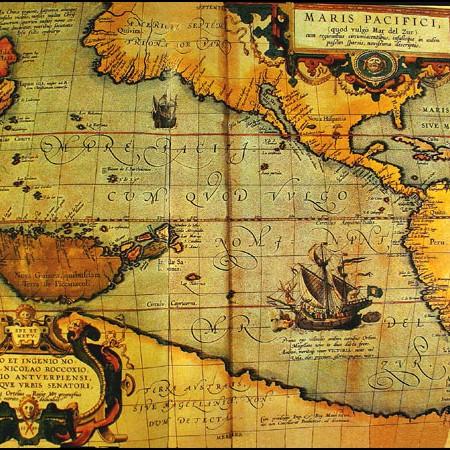 Ortelius, Maris Pacifici, 1589