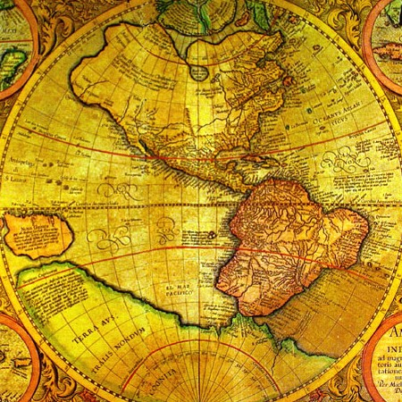 Gerard Mercator, America sive India Nova, 1595