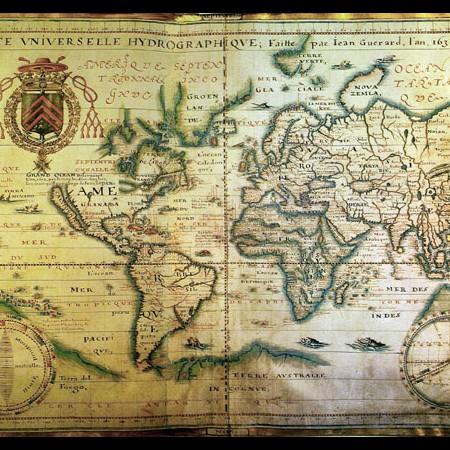 Jean Guerard, Carta universale idrografica, 1634