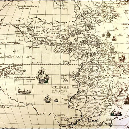 Juan Botero Benes, Carta dell'America, 1599