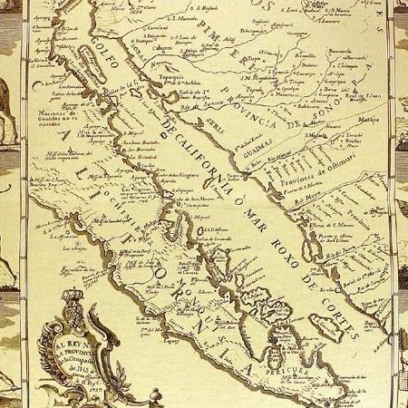 Miguel Venegas, Carta della California, 1757