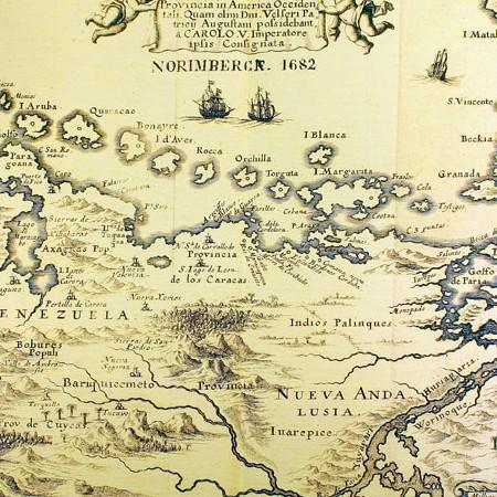 Oviedo y Baños, Carta della provincia del Venezuela, 1723