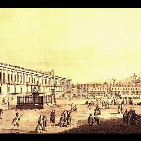 F. Brambilla, Piazza Maggiore di Città del Messico