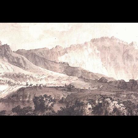 F. Brambilla, Il passo di Mendoza sulla cordigliera delle Ande