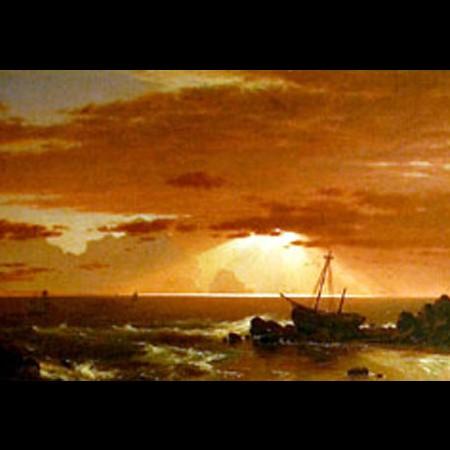 Frederic Edwin Church, Il naufragio, 1852