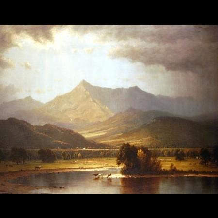 Sanford Robinson Gifford, Temporale sui monti Adirondacks, 1866