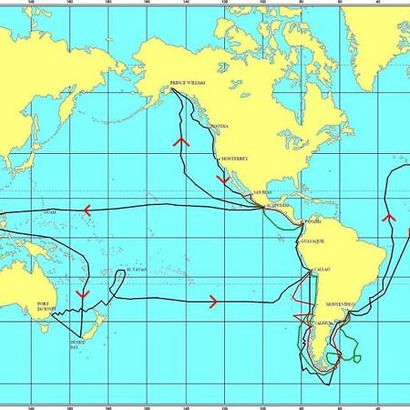 Itinerario della spedizione