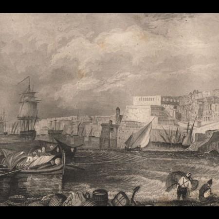 Malta - stampa sec. XIX