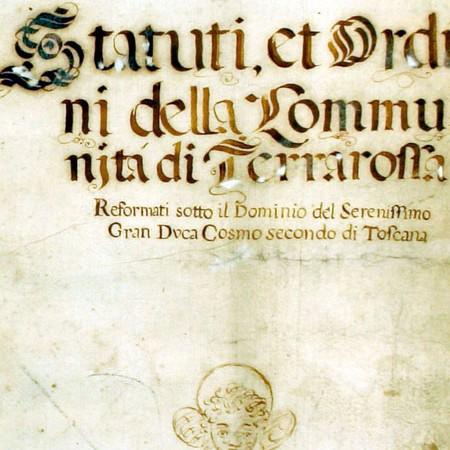 ACB, Statuto di Terrarossa, prima metà sec. XVII