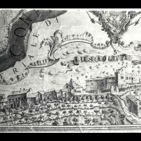 ACB, Pianta corografica del Comune di Lusuolo, 1764
