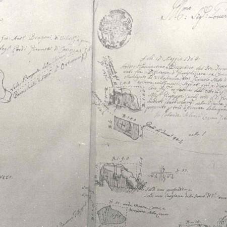 3 Confine tra i territori di Villafranca e i territori di Lusuolo e Canossa