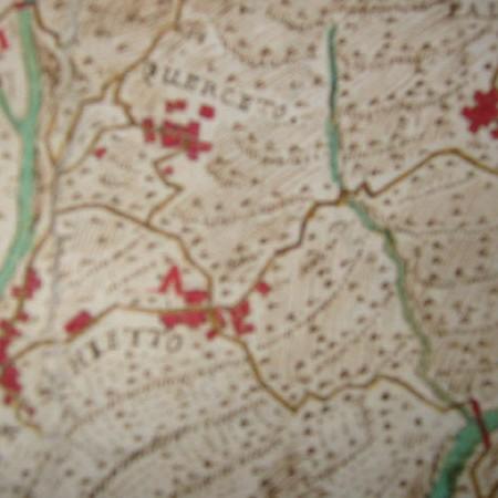 12 Particolari della carta con i nuclei di Querceto, Palestro e Treschietto