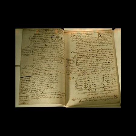3 - Deliberazioni della Comunità  di Bagnone1735-1737
