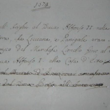 Lettera Arrighi