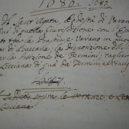 Lettera di sant'Agata