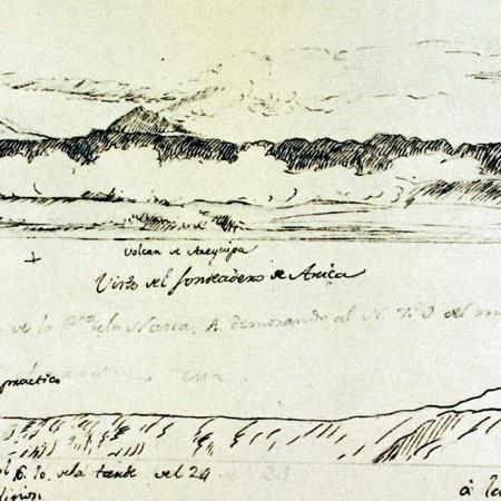 Veduta della costa e dell'ormeggio