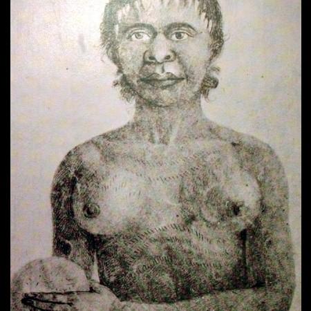 Ritratto di donna della Nuova Olanda