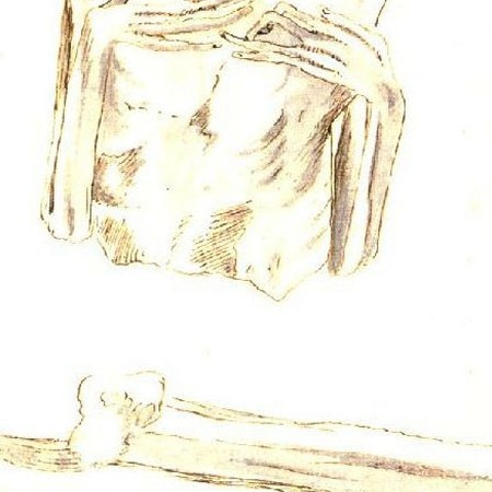 Torso e gamba di mummia