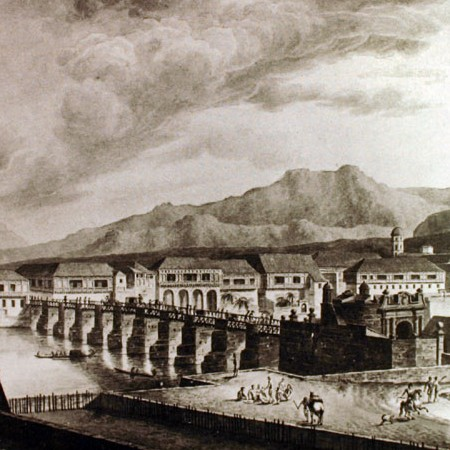 Il fiume di Manila dal Fortim