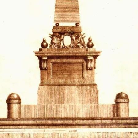 Mausoleo in onore di Pineda