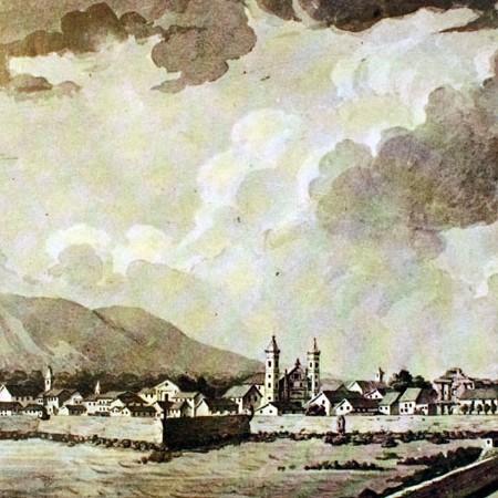 Veduta di Panama da castello di Chiriqui