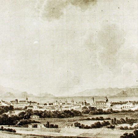 Veduta di Santiago